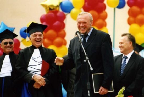 Поздравление с началом учебного года. УГТУ 2005г.